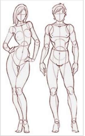 Как нарисовать красивую грудь Учитесь рисовать.
